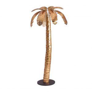 Figura decorativa palmera lucerna