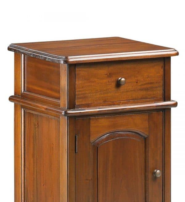 Mesita vintage victorian 1 cajón 1 puerta