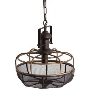 Lámpara de techo marco