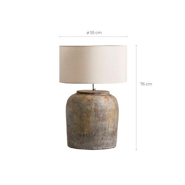 Lámpara de sobremesa rita