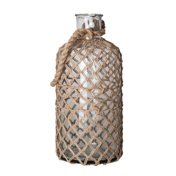 Botella decorativa tova