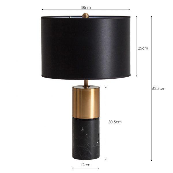 Lámpara de sobremesa rama