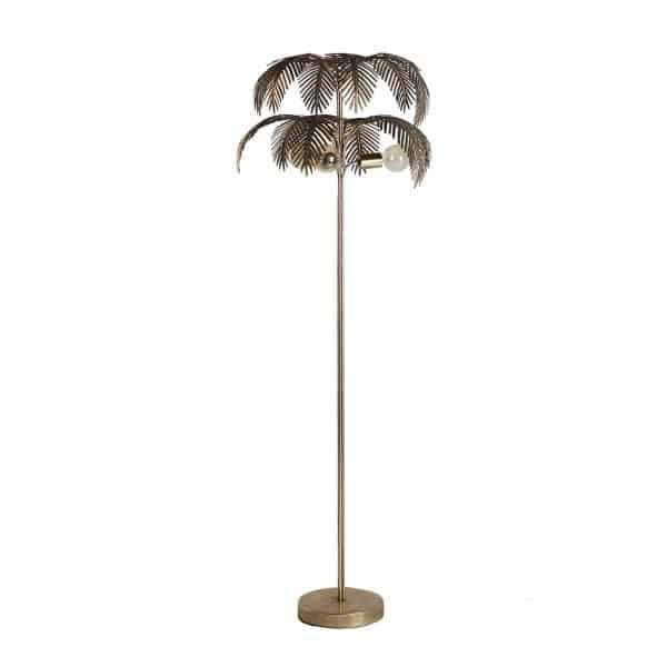 Lámpara de pie palmera