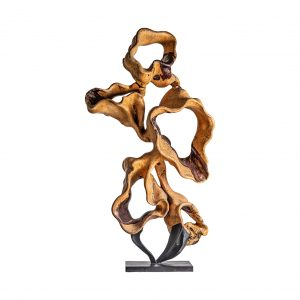 Escultura pie abstracta
