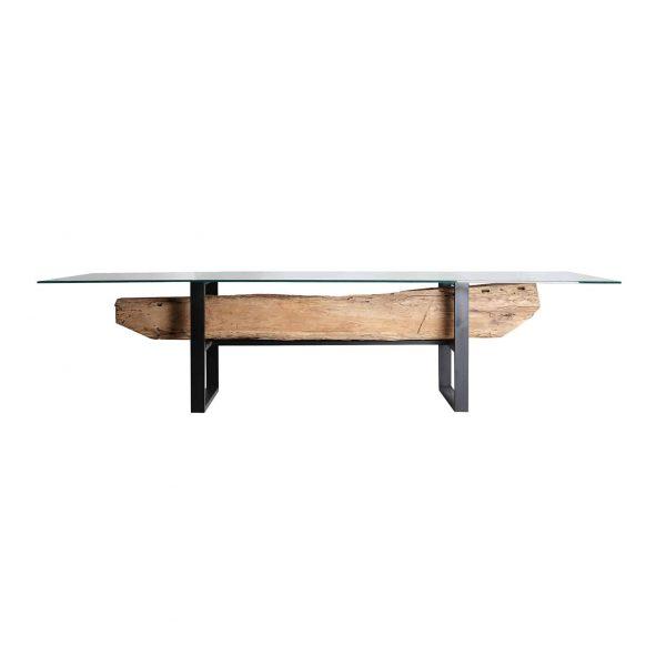 Mesa comedor wikera