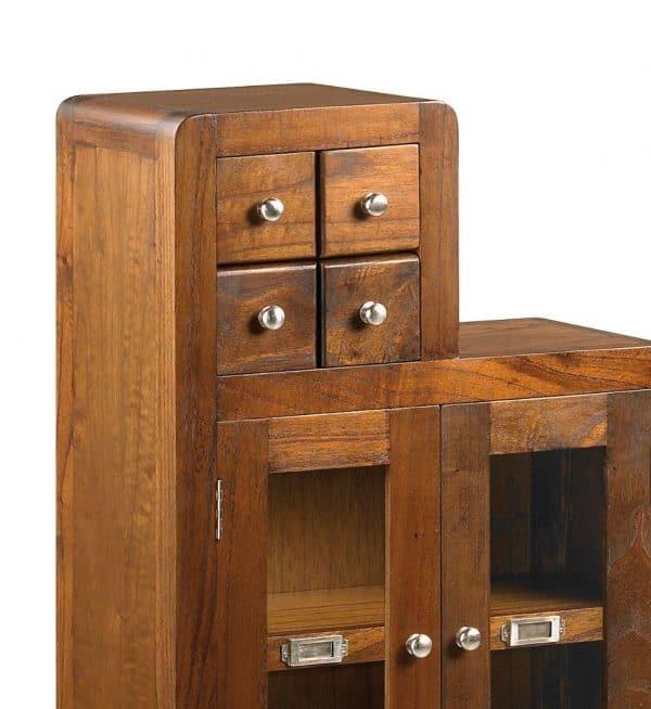 Mueble escalera flash izquierda 4+3 cajones 2 puertas