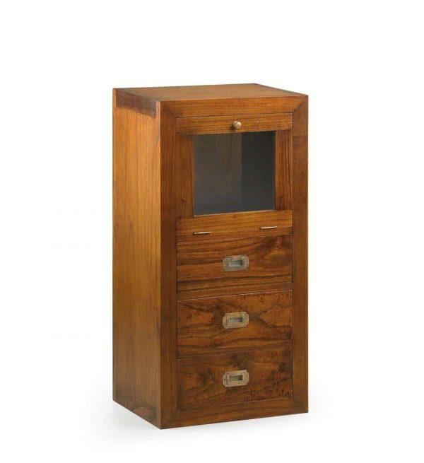 Mueble auxiliar star combi 3 cajones 1 puerta abatible