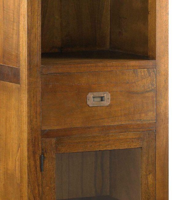 Librería star 1 cajón 1 puerta 3 estantes