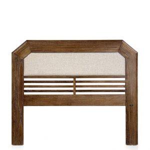 Cabezal sindoro barrotes horizontales tapizado