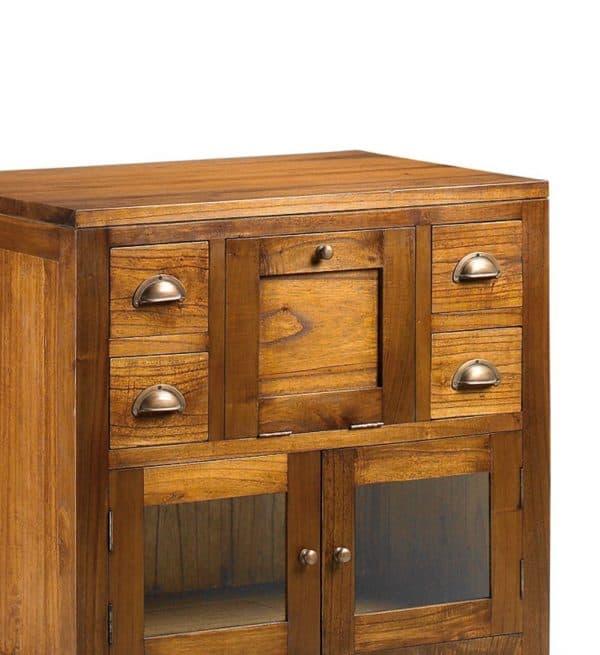 Mueble baño star 4 cajones 2 puertas 1 puerta abatible
