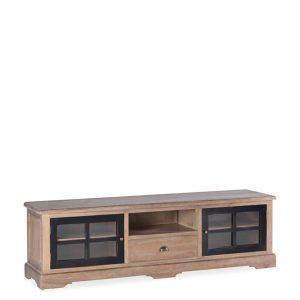 Mueble tv siena 1 cajón 2 puertas 1 hueco