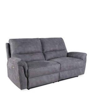 Sofá basil reclinable eléctrico gris