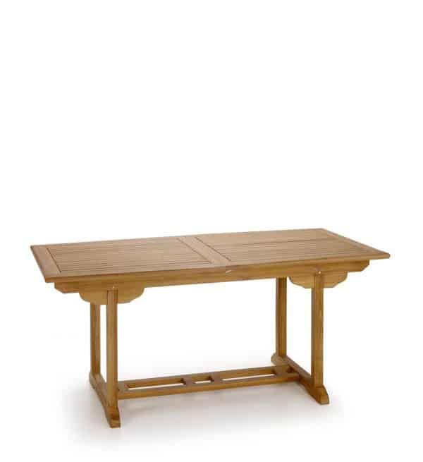 Mesa jardín rectangular extensible