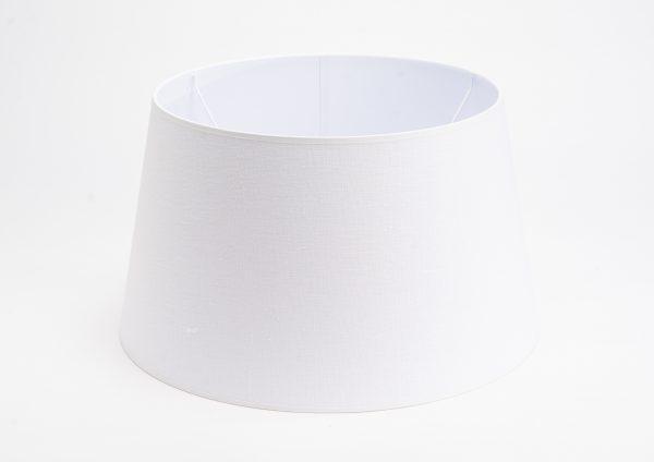 Pantalla kaza lino blanco