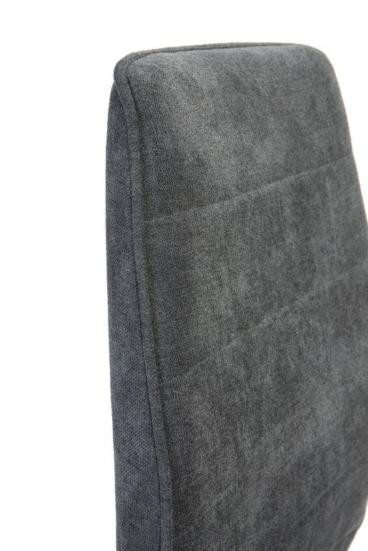 Silla Tebas gris oscuro