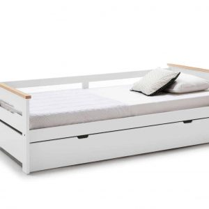 Cama nido 0.90 Elisa-3 90×190 blanco natural