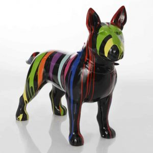 Bulldog terrier trash ngo