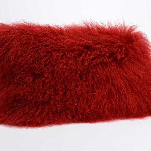 Cojin corderito rojo