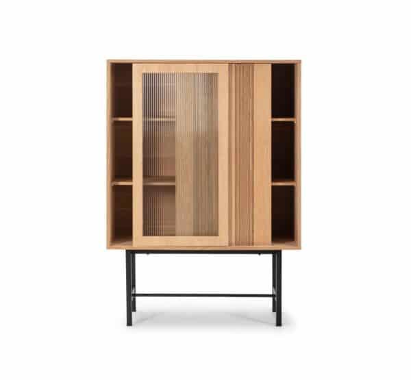 Mueble auxiliar Malena 2 puertas roble