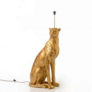 Base lámpara lectura guepardo