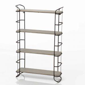 Estanteria metal/madera 4 estante