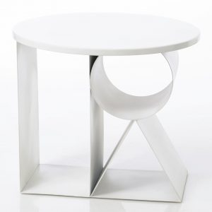 Mesa auxiliar blanco