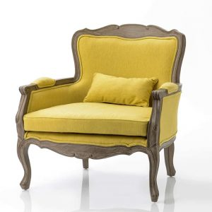 Sillon amarillo relax