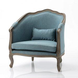 Sillon azul delicat