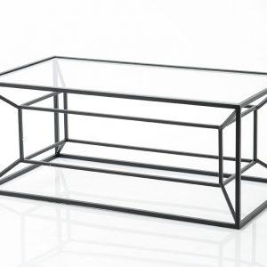 Mesa baja cubica negro