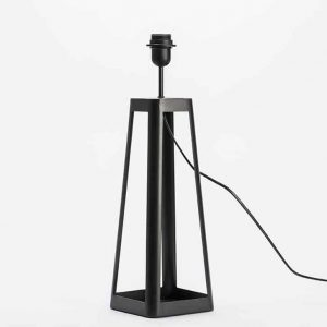 Base lampara mesa pila