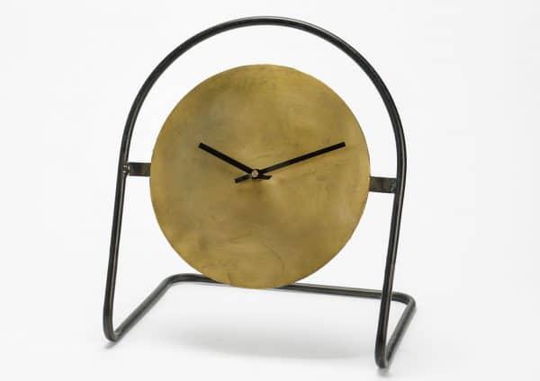 Reloj redondo oro