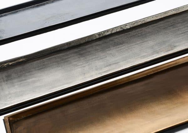 Consola aluminio  tricolor