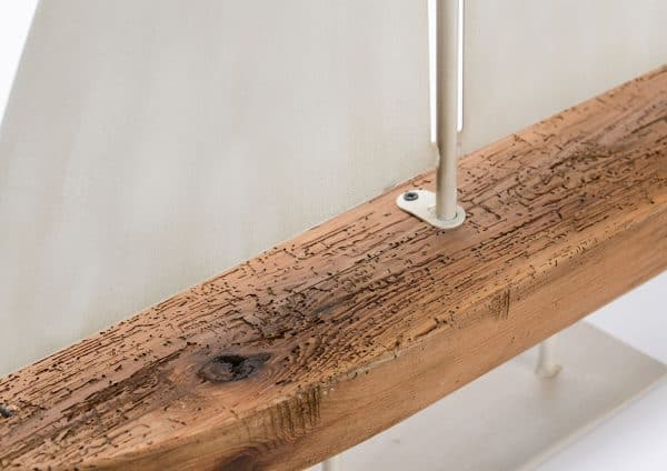 Deco velero madera