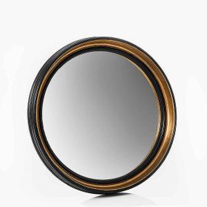 Espejo  sorciere negro  rond