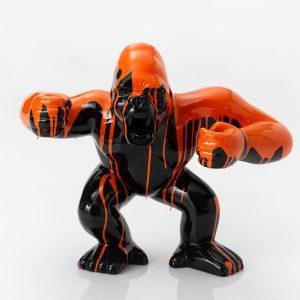 Gorille negro  trash orange