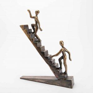Sculpture escalier