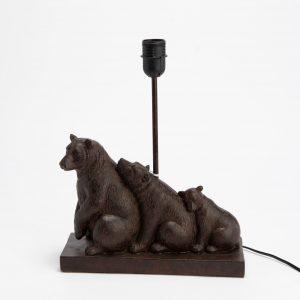 Base lámpara oso en famille