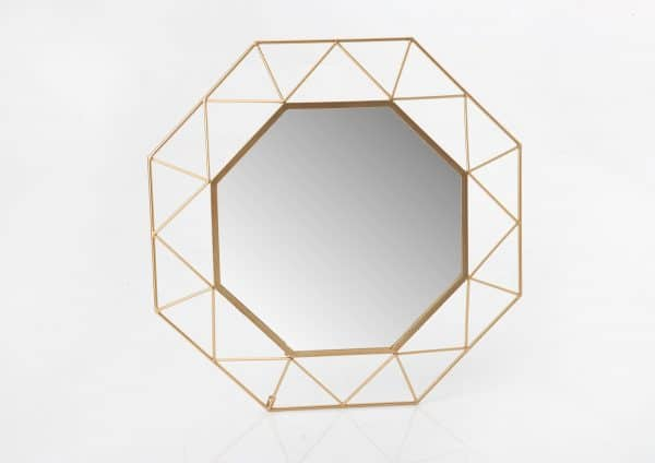 Espejo  octogone gold
