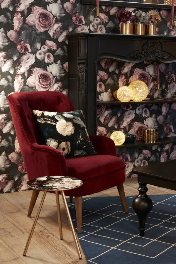 Mesa auxiliar  floral