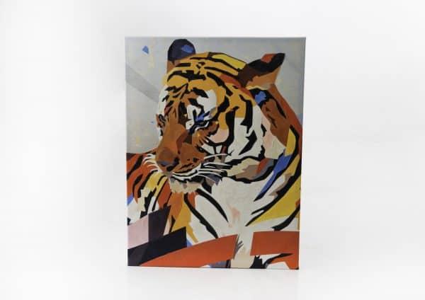 Lienzo  tigre colore