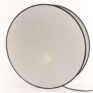 Lampara  luna gris perle