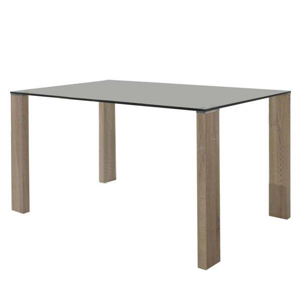 Mesa rectangular Turin roble