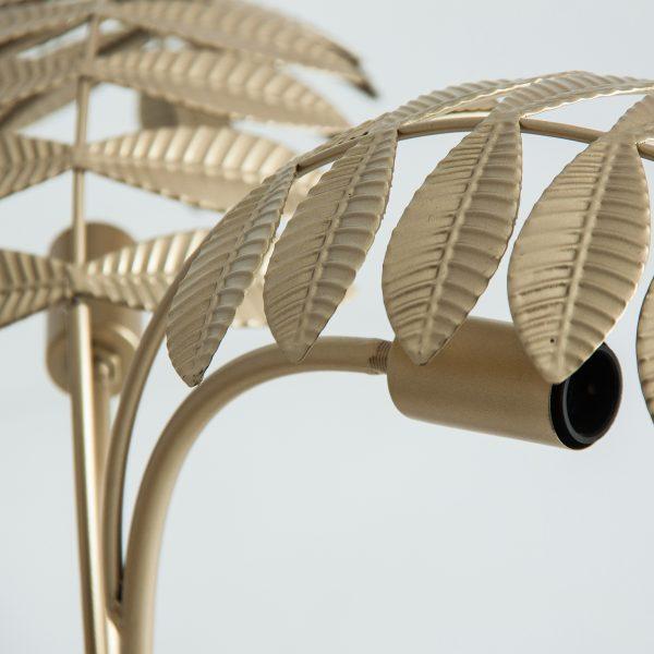 Lámpara de sobremesa hojas