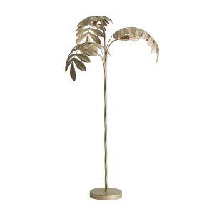 Lámpara de pie hojas