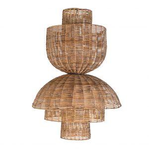 Lámpara de techo plissé