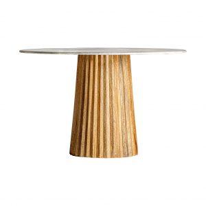 Mesa comedor plissé