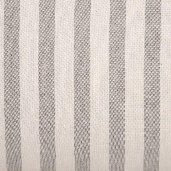 Cojín rayas algodón-poliéster