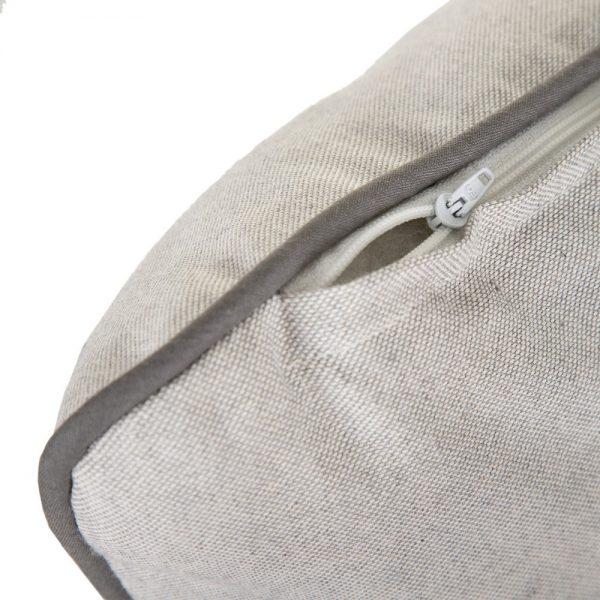 Cojín perla algodón-poliéster