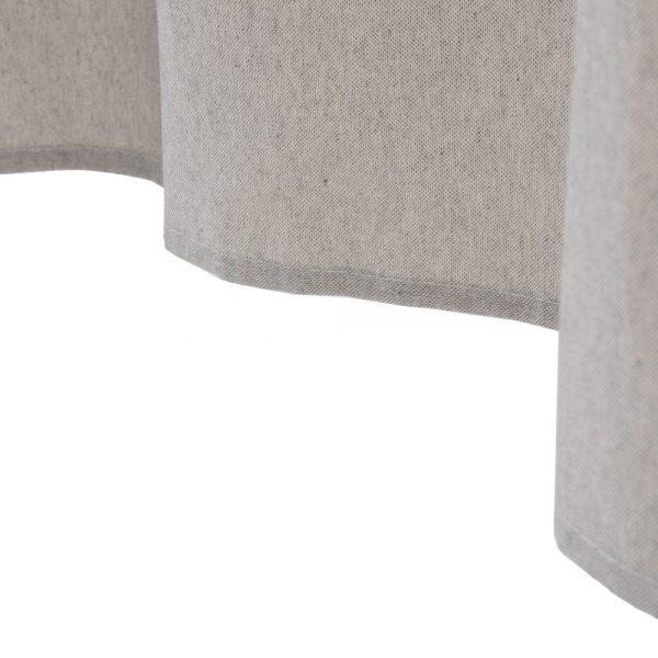 Cortina perla algodón-poliéster