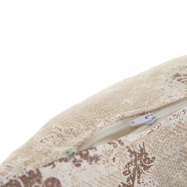 Cojín estampado algodón-poliéster